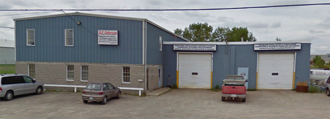 J.R. Robertson Front Building